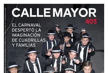 CALLE MAYOR 405 - EL CARNAVAL DESPERTÓ LA IMAGINACIÓN DE CUADRILLAS Y FAMILIAS