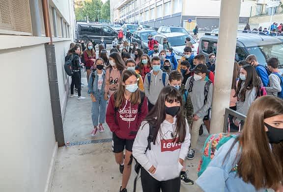 Más de 1.600 jóvenes ocupan las aulas de los institutos de Estella
