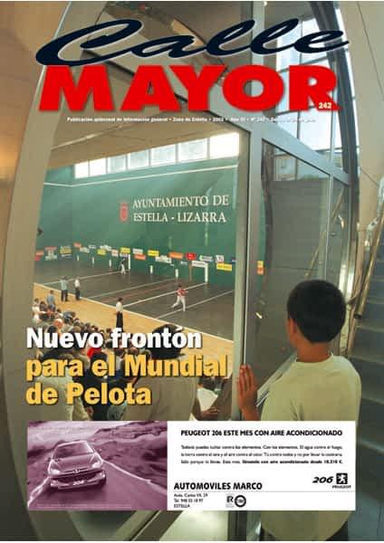 CALLE MAYOR 242 – NUEVO FRONTÓN PARA EL MUNDIAL DE PELOTA