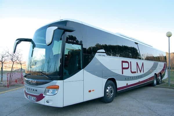PLM aumenta su flota con nueve autobuses nuevos