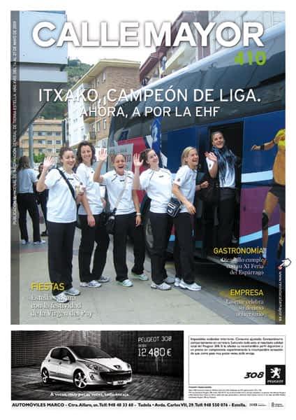 CALLE MAYOR 410 – ITXAKO, CAMPEÓN DE LIGA.  AHORA A POR LA EHF