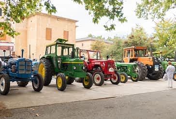 De viaje en tractor