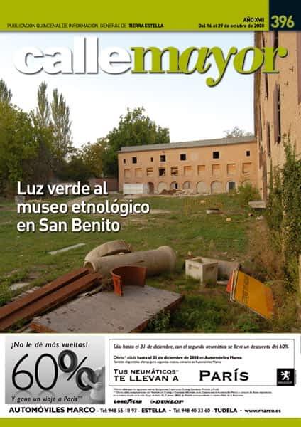 CALLE MAYOR 396 – LUZ VERDE AL MUSEO ETNOLOGÍCO EN SAN BENITO