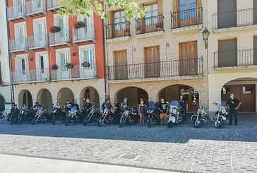 Los Íberos Riders hicieron rugir las motos en su aniversario