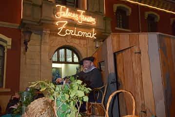 Olentzero repartió ilusión en Nochebuena