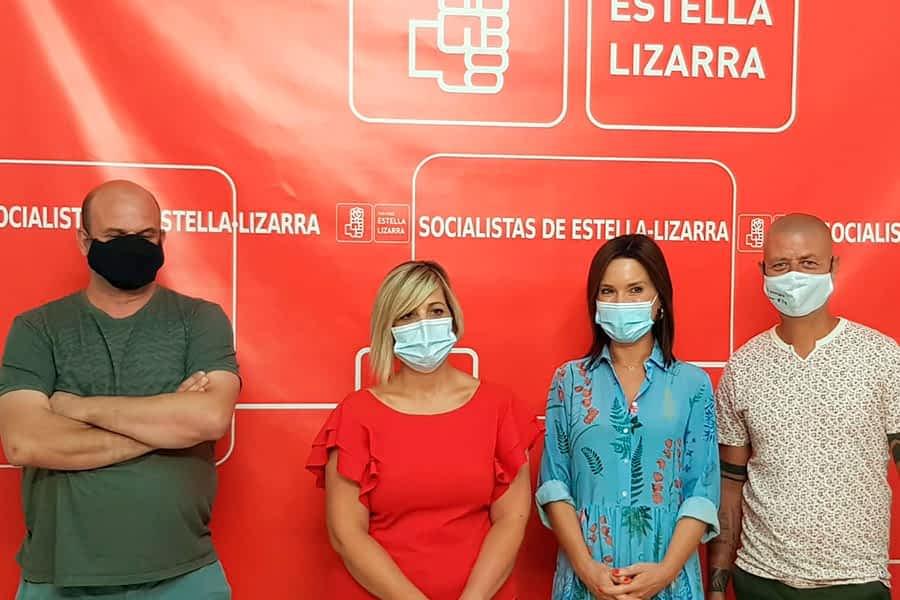 Nueva etapa para el Partido Socialista de Estella tras elegir a la nueva Ejecutiva
