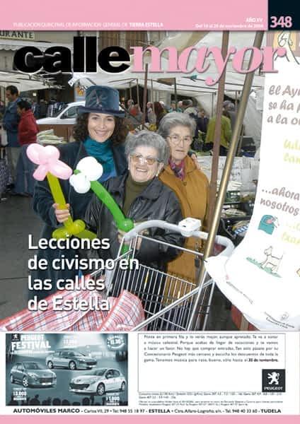 CALLE MAYOR 348 – LECCIONES DE CIVISMO EN LAS CALLES DE ESTELLA
