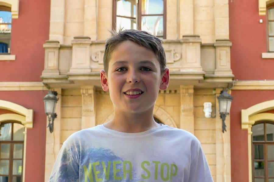 Íñigo Chávarri Hita 12 años - C.P. Remontival