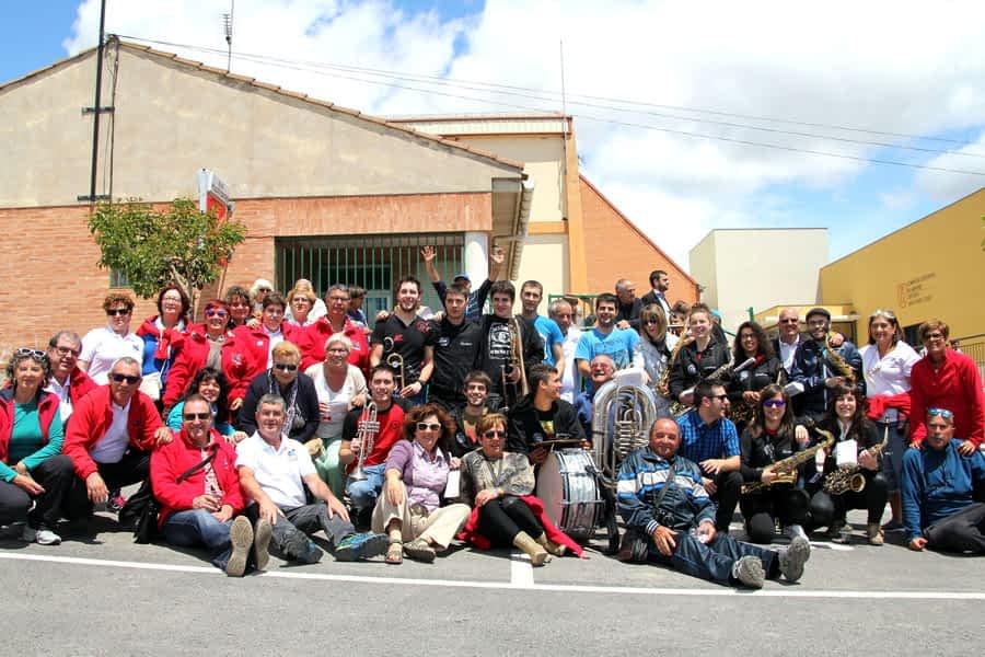 Concentración de auto-caravanas en Arróniz