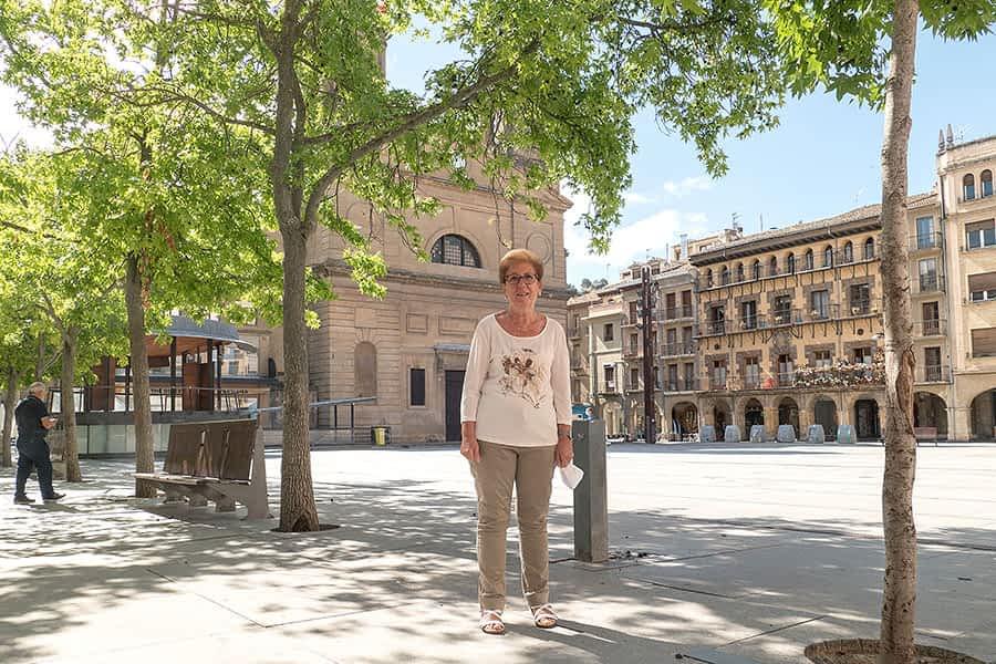 """Mª José Fernández Aguerri – """"Uno de los actos que más  me emociona es la despedida de los gigantes"""""""