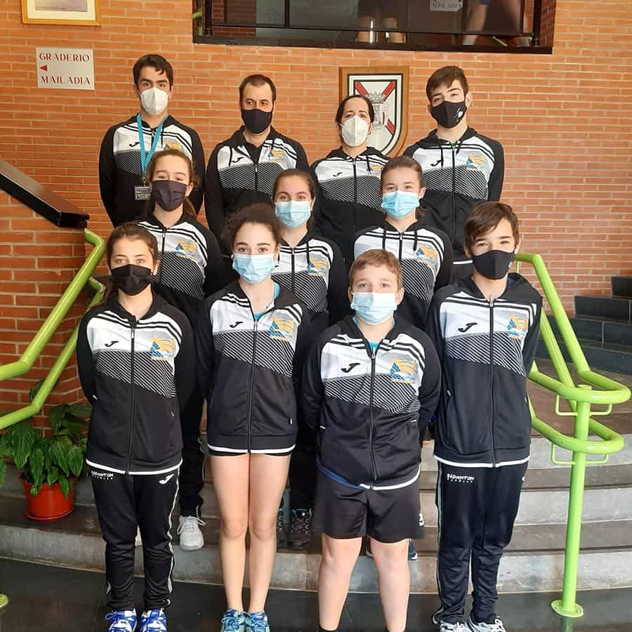 Competiciones del Club Bádminton Estella en Vitoria, Alfajarín y Soto de la Marina