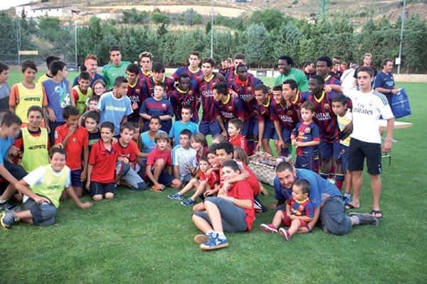 El Barça, campeón en Arróniz