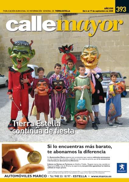 CALLE MAYOR 393 – TIERRA ESTELLA CONTINÚA DE FIESTA