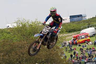 Aunque segundo en la general, el piloto de motocross Ander Valentín se aleja del Campeonato de España