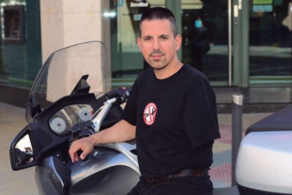 """Ricardo Almoguera. """"Mi ilusión es volver a montar en moto"""""""