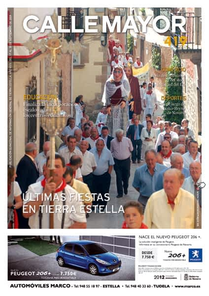 CALLE MAYOR 419 – ÚLTIMAS FIESTAS EN TIERRA ESTELLA