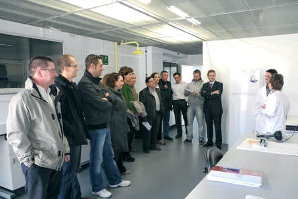 La nueva Corporación visitó el Centro Miguel de Eguí