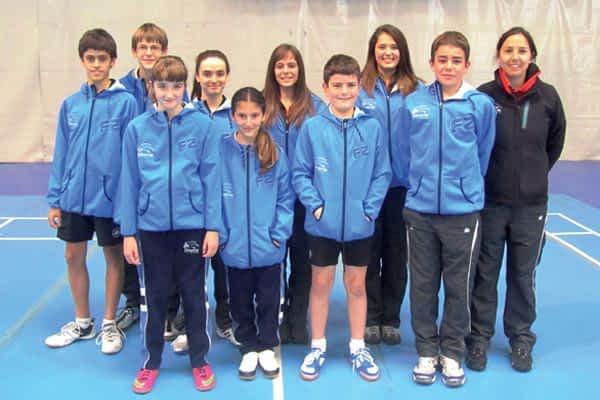 El equipo estellés logra dos quintos puestos en el Campeonato de España sub 15