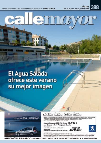 CALLE MAYOR 388 – EL AGUA SALADA OFRECE ESTE VERANO SU MEJOR IMAGEN
