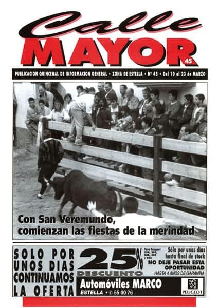 CALLE MAYOR 045 – CON SAN VEREMUNDO, COMIENZAN LAS FIESTAS DE LA MERINDAD