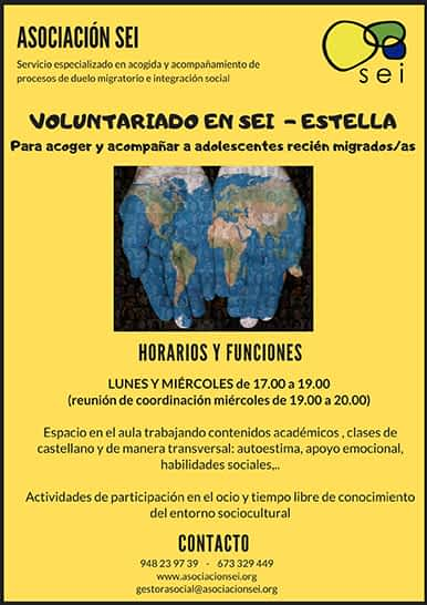 El Servicio Socioeducativo Intercultural busca voluntarios