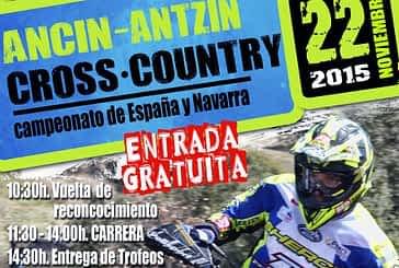 Cita con el Cross Country en Ancín el 22 de noviembre