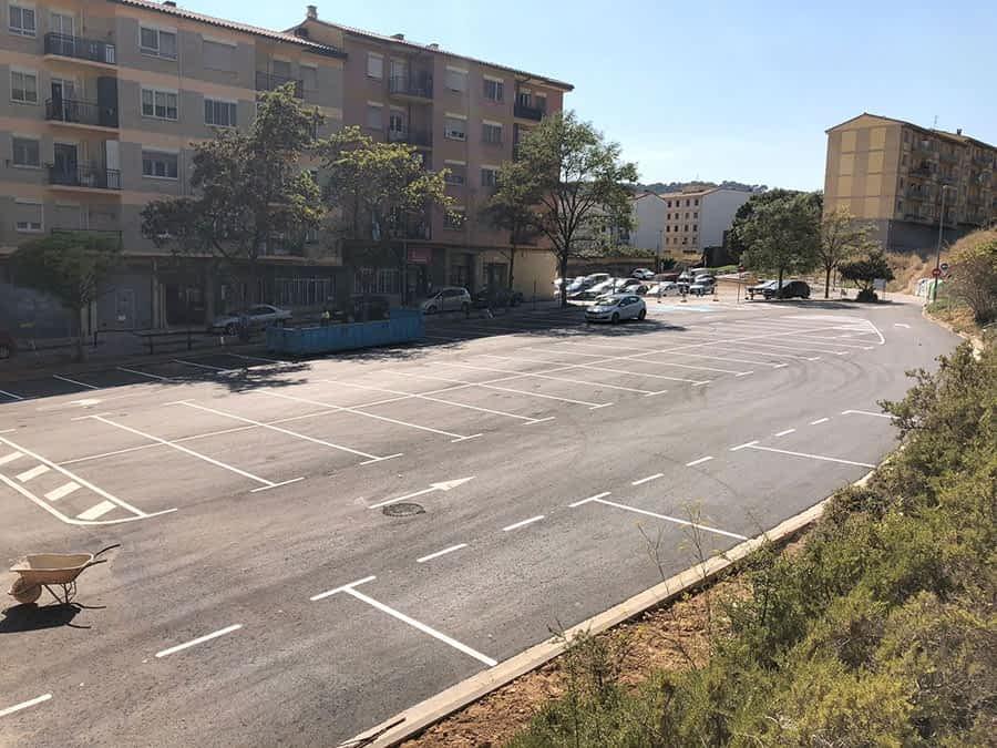 Reapertura del parking de Cordeleros