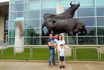 Tierra Estella Global:  Miguel Sainz y Alicia Garriz, Houston.