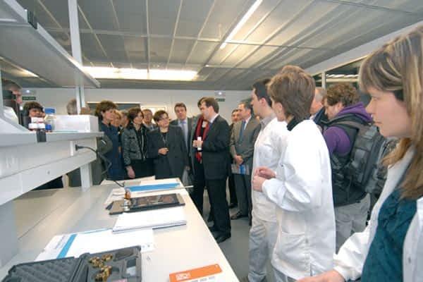 Estella inaugura el Centro Tecnológico de Artes Gráficas y Visuales Miguel de Eguía