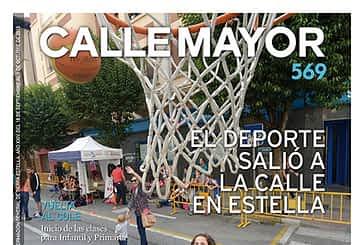 CALLE MAYOR 569 - EL DEPORTE SALIÓ A LA CALLE EN ESTELLA