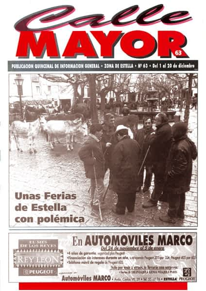 CALLE MAYOR 063 – UNAS FERIAS DE ESTELLA CON POLÉMICA
