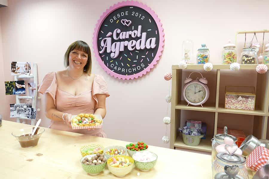 Carol Ágreda Catering abre nuevo local en la plaza de Santiago de Estella