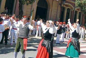 El grupo de danzas Larraiza comienza sus ensayos  en la casa de la juventud María Vicuña