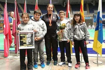Patricia Pérez, bronce en el Campeonato de España