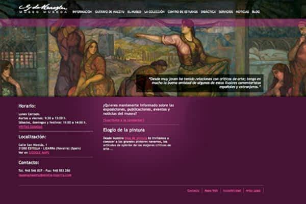 Un paseo por el Gustavo de Maeztu a través de su nueva web