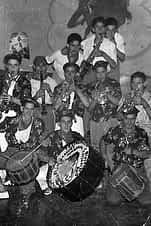 La cuadrilla de los Chamuscas.