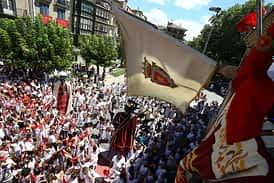 Domingo, procesión y pañuelada - 06-08-2017