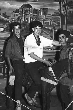 03. 4 de agosto de 1962. De izda. a dcha. Sinfo Barbarin, José Mª Osés y Jesús Barbarin.