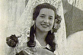Año 1957. Mª Carmen Basarte.
