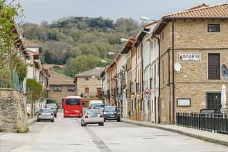 Bearin - Navarra - Calle central, antigua carretera nacional