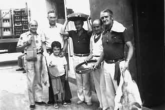 Francisco Cabanés, Jesús Lacunza, José Mª Cabanés, Leandro Garijo, Enrique Zúñiga y Jose Ramón Cabanés.