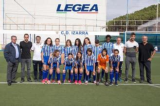 Club Deportivo Izarra. F11 Femenino Infantil Cadete