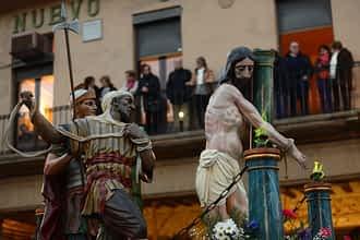 Paso del Cristo Atado a la Columna.