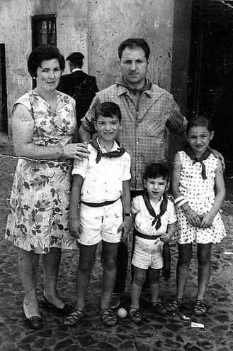 32. 1970. La familia Ganuza Garrués.