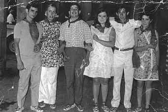 04. De izda. a dcha. Agustín, Nieves Soravilla, Sinfo Barbarin, Osés, Iñaki