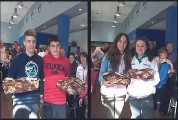 Treinta y seis parejas en el IV Torneo de Navidad del Club Raqueta Montejurra