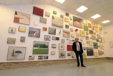 Ciento treinta pinturas de Antón Hurtado en el Gustavo de Maeztu