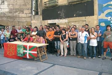 Reivindicación por los cuatro detenidos tras la batukada de fiestas