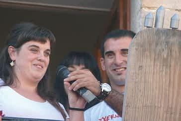 Dos cohetes anunciaron la fiesta en Mañeru