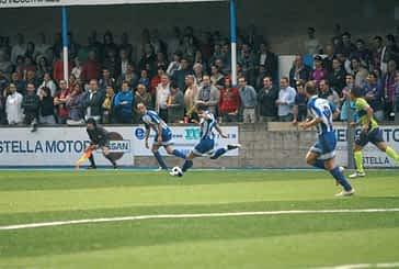 Victoria 0-2 ante  el Compostela